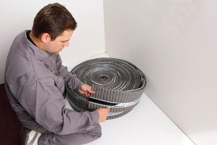 Pokládka podlahového topení návod