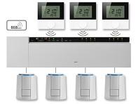 Bezdrátová svorkovnice ALPHA 2 / 230V / 12 zón pro regulaci podlahového topení
