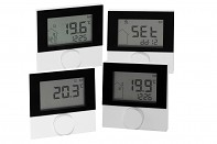 Bezdrátový pokojový termostat ALPHA 2 pro regulaci podlahového topení s LCD displejem