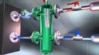 CALEFFI Anuloid - Hydraulický vyrovnávač tlaků