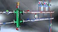 "CALEFFI Anuloid - Hydraulický vyrovnávač tlaků 1 1/2"""