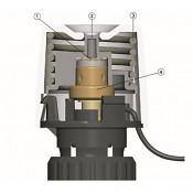 Elektrotermický pohon EMOtec 24 V / NC pro rozdělovače podlahového vytápění