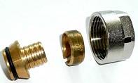 Svěrné šroubení na vícevrstvé potrubí PEX / PERT 17x2 - EK