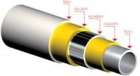 Trubka PEX-AL-PEX 16x2 500m pro podlahové vytápění a rozvody sanity