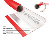 Potrubí TOP HEATING PREMIUM RED 16x2 PEX / AL / PEX - Laser 50 m pro podlahové topení