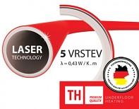 Potrubí TOP HEATING PREMIUM RED pro podlahové topení 16x2 PEX / AL / PEX - Laser