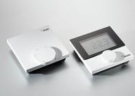 Prostorový termostat REHAU Nea Smart R - Pokojový termostat (podlahové topení) - kabelová verze