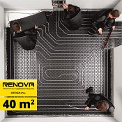 SET 40m2 TOP HEATING RENOVA ORIGINAL podlahové topení