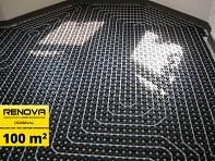 SET 100m2 RENOVA ORIGINAL podlahové topení - cena