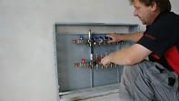 Skříň pro rozdělovač pod omítku - podlahové topení