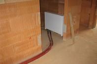 Skříň rozdělovače podlahového topení svépomocí