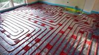 Podlahové topení svépomocí - instalace zákazník Praha