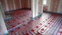 Podlahové topení svépomocí - instalace zákazník Brno