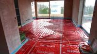 Podlahové topení svépomocí - instalace zákazník České Budějovice