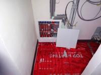 Podlahové topení svépomocí - instalace zákazník Přerov