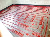 Podlahové topení svépomocí - instalace zákazník Hodonín