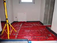 Podlahové topení svépomocí - instalace zákazník Tábor