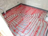 Podlahové topení svépomocí - instalace zákazník Příbram