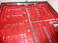 Podlahové topení svépomocí - instalace zákazník Litomyšl