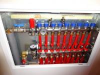 Podlahové topení svépomocí - instalace zákazník Svitavy