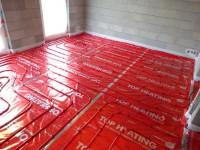 Podlahové topení svépomocí - instalace zákazník Chomutov