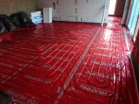 Podlahové topení svépomocí - instalace zákazník Litoměřice