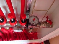 Podlahové topení svépomocí - instalace zákazník Benešov