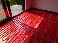 Podlahové topení svépomocí - instalace zákazník Česká Lípa