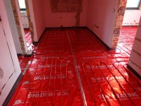 Podlahové topení svépomocí - instalace zákazník Humpolec