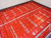 Podlahové topení svépomocí - instalace zákazník Uherské Hradiště