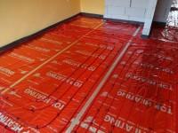 Podlahové topení svépomocí - instalace zákazník Frýdek - Místek