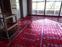 Podlahové topení svépomocí - instalace zákazník Nový Jičín
