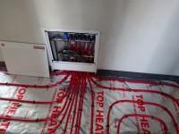 Podlahové topení svépomocí - instalace zákazník Břeclav