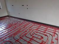 Podlahové topení svépomocí - instalace zákazník Český Krumlov