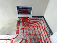 Podlahové topení svépomocí - instalace zákazník Klatovy