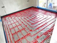 Podlahové topení svépomocí - instalace zákazník Náchod
