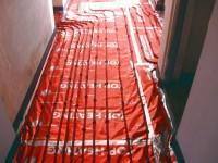 Podlahové topení svépomocí - instalace zákazník Havlíčkův Brod