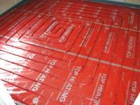 Podlahové topení svépomocí - instalace zákazník Vimperk