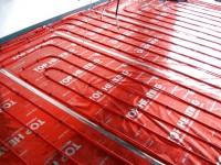 Podlahové topení svépomocí - instalace zákazník Jeseník