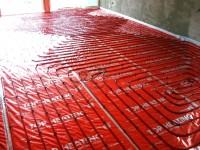 Podlahové topení svépomocí - instalace zákazník Mošnov