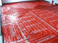 Podlahové topení svépomocí - instalace zákazník Ořechov