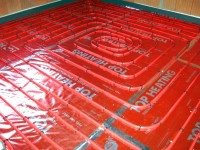 Podlahové topení svépomocí - instalace zákazník Krnov