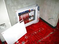 Podlahové topení svépomocí - instalace zákazník Šenov
