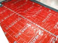 Podlahové topení svépomocí - instalace zákazník Dolní Morava