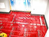 Podlahové topení svépomocí - instalace zákazník Žamberk