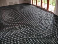 Podlahové topení svépomocí - instalace zákazník Čeladná