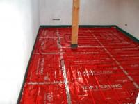 Podlahové topení svépomocí - instalace zákazník Boskovice