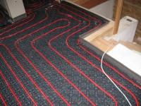Podlahové topení svépomocí - instalace zákazník Mělník