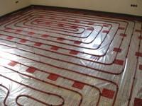 Podlahové topení svépomocí - instalace zákazník Turnov