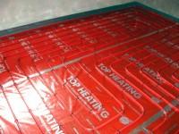 Podlahové topení svépomocí - instalace zákazník Nepomuky